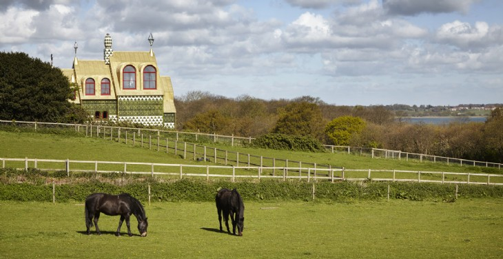 A House for Essex by Grayson Perry Where to Stay in Essex