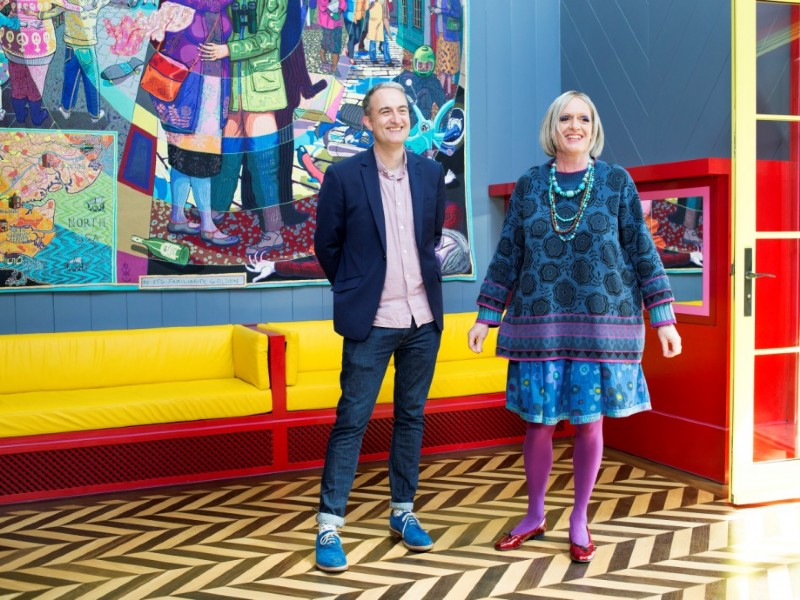 artist grayson perry and charles holland