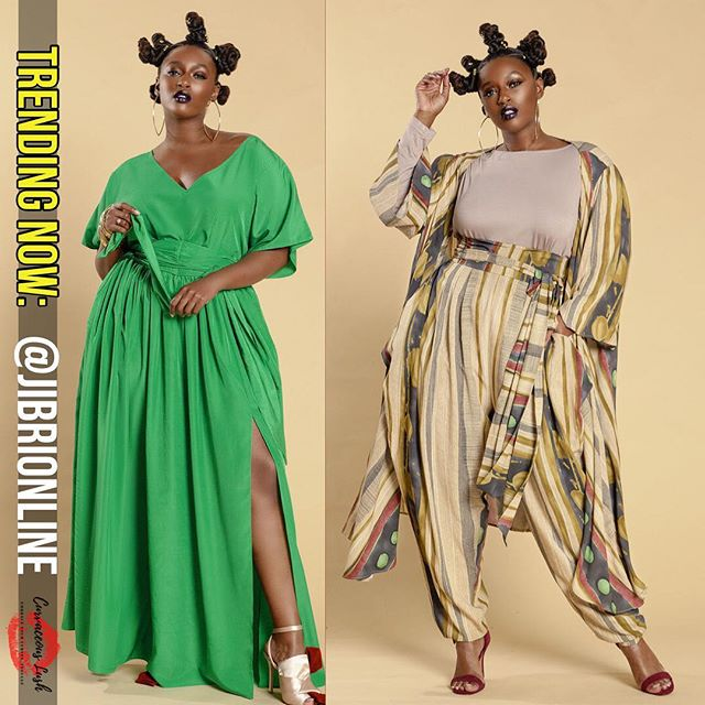 Trending Now: @jibrionline Spring 2019 Collection! Jibri has us feeling allll the earth tone vibes for Spring! Shop now at www.jibrionline.com! #trendingnow #plussizefashion #stylefilesplus #jibrionline #curvygirlsunite #bodypositivity #plussize #springfashion #embraceyourcurves #empoweringwomen #curvaceouslush