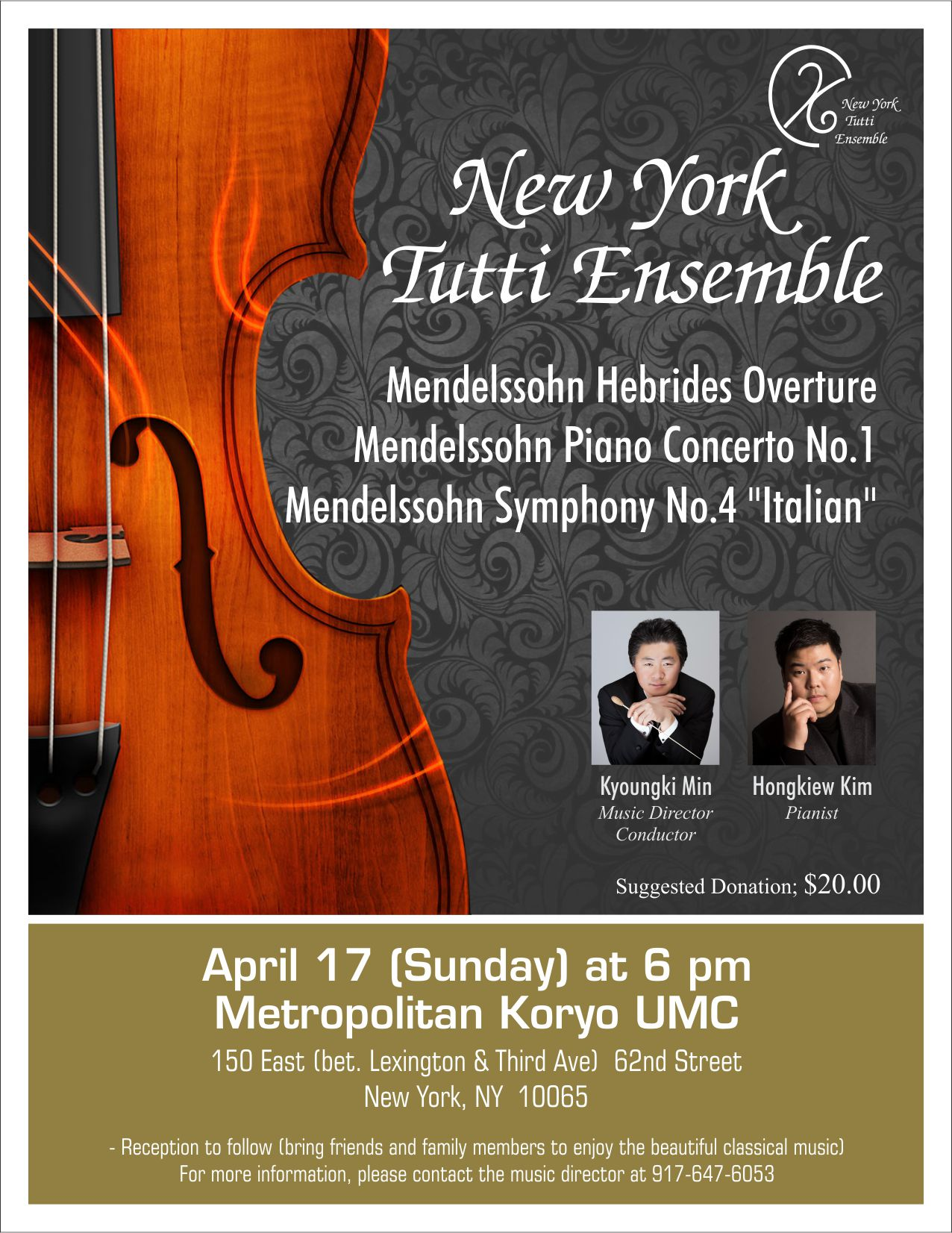 Tutti Music Ensemble Concert 4/17/16