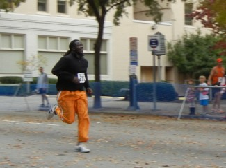 IFFS Chef Will Hall sprinting to the finish!