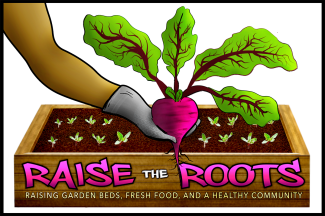Raise the Roots logo