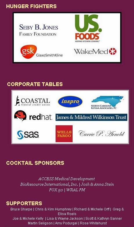 TOH sponsors 2014
