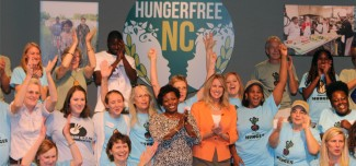 Hunger Free NC Thank You Banner
