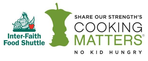 IFFS Cooking Matters logos