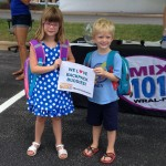 Kids at MIX drive for BackPack Buddies