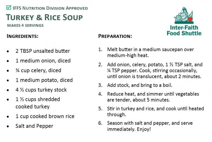 Turkey & Rice Soup Recipe