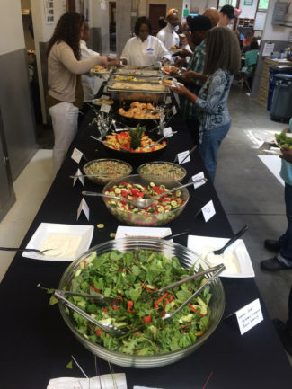 Culinary Job Training Program graduation feast 72