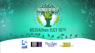 HungerFreeNC MEDIAthon is July 16. Visit HungerFreeNC.org for more information.