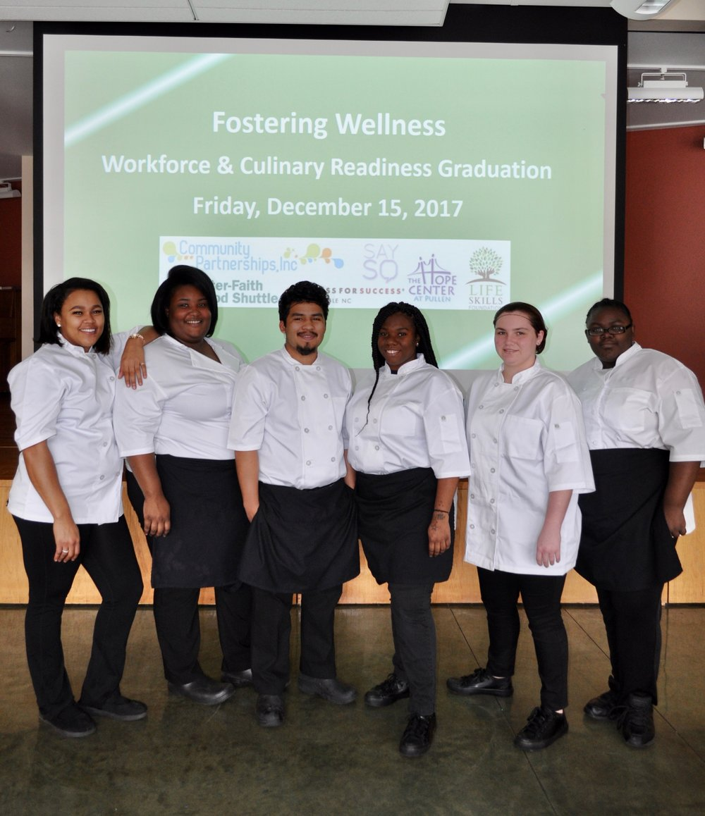 The fourth Fostering Wellness class on graduation day!