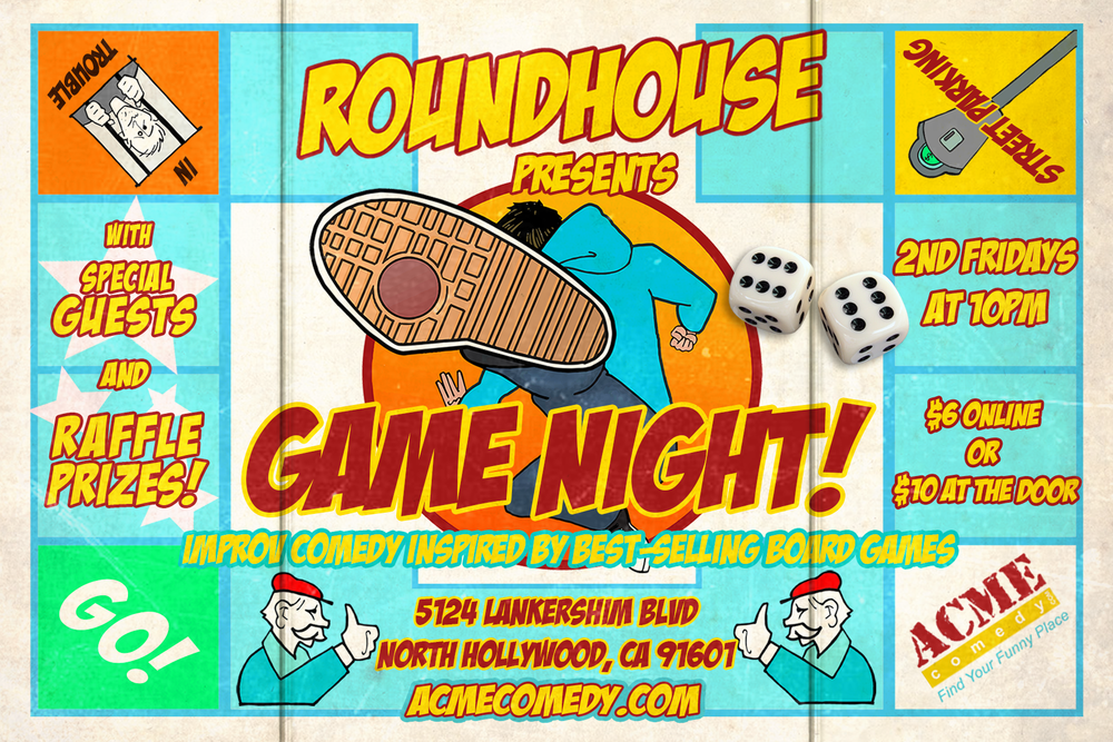 Roundhouse Game Night