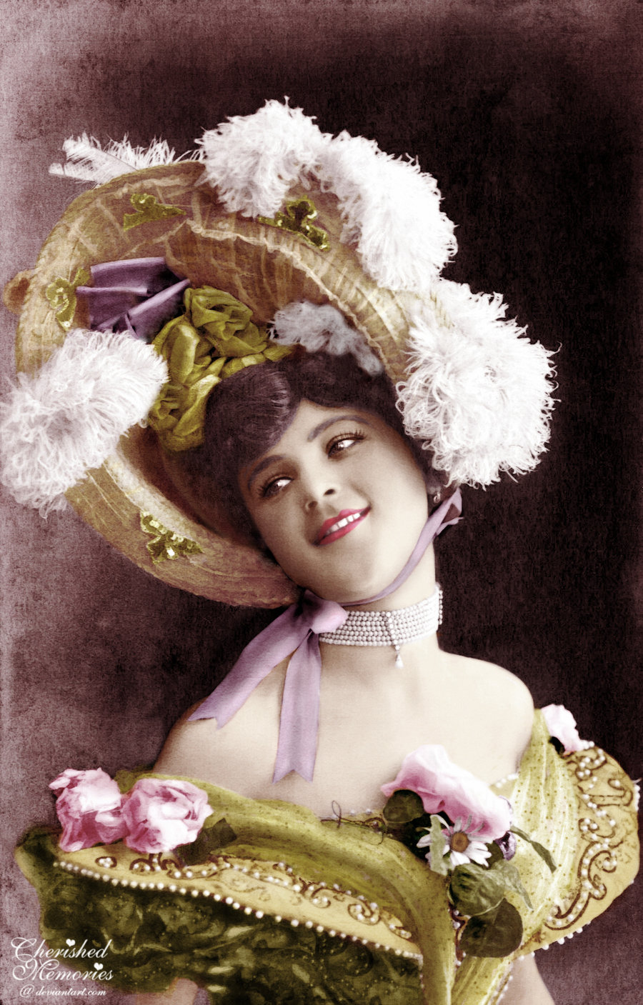 Will you be this pleased with your bonnet creation?