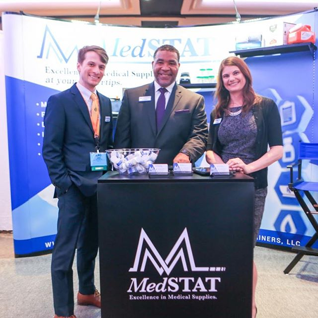 Best of luck to our client, @jonathan.connell and his @medstatsupplies team during the USAOTP Conference starting tomorrow. Your identity #rebranding and tradeshow displays now truly reflect your outstanding professionalism and industry expertise! #revelworthydesign #standout #medSTAT #rebrand #logodesign #fistbump #USAOTP #opiodtreatmentproviders #austintexas