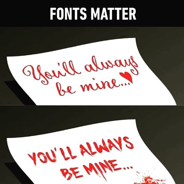 What's your #gotofont for #valentines 💘🥰