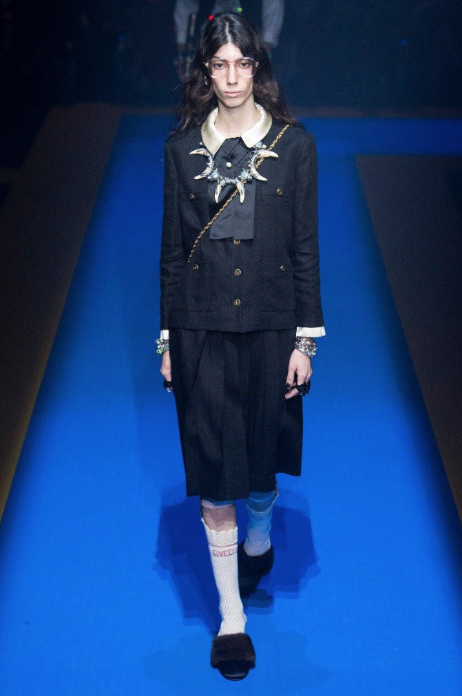 Oyku Bastas - Exclusive, Runway. GUCCIClick on image so see full show