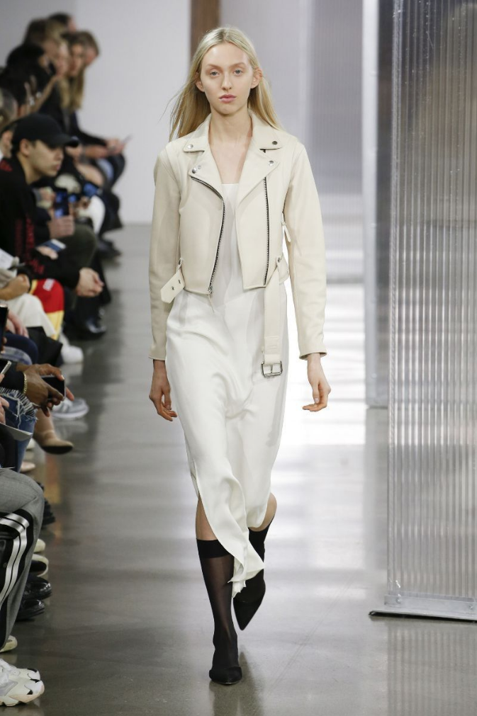 Delilah Koch - Runway. Click the image to shop John Elliott