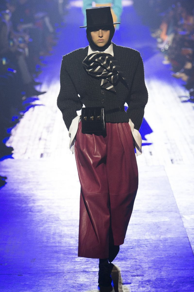 Delilah Koch - Runway. Click on image to view entire Marc Jacobs runway show.