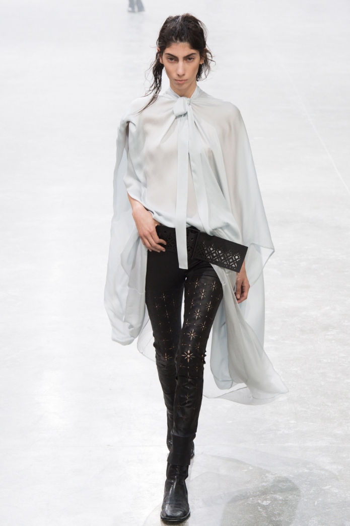 Oyku Bastas - Runway. Click on image to shop Haider Ackermann