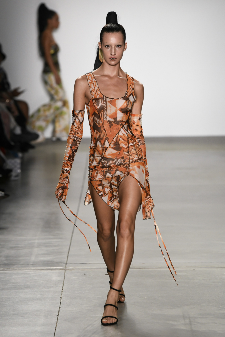 Emily Hazeltine - Runway. Click on image to see more images from the Kim Shui show.