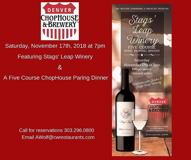 #stagsleap #stagsleapwinery #breakthrubeverage #craftedevents #cwlife #craftworks