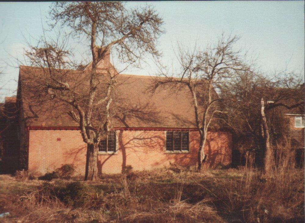 Original church hall before 1987