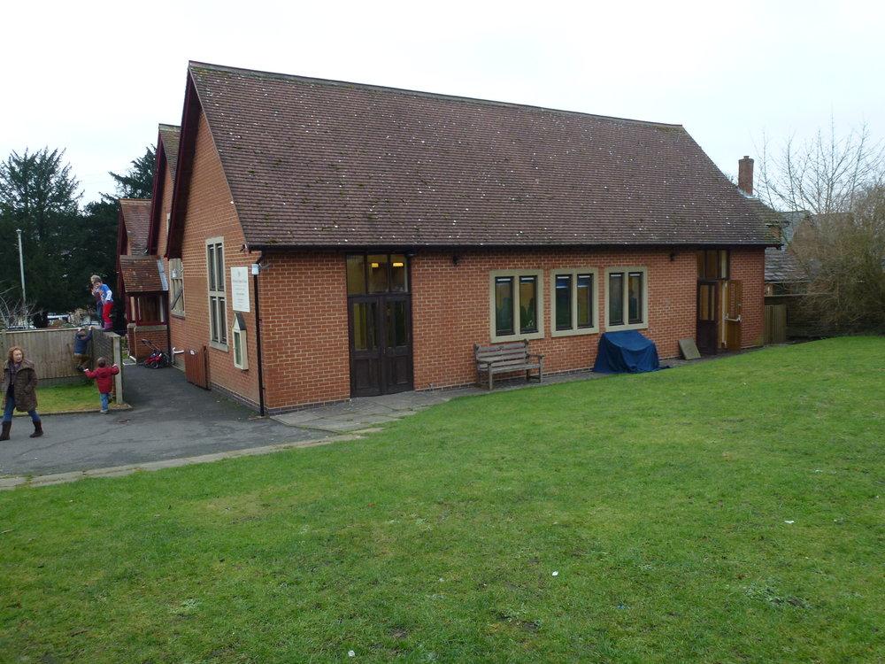 Extended church hall