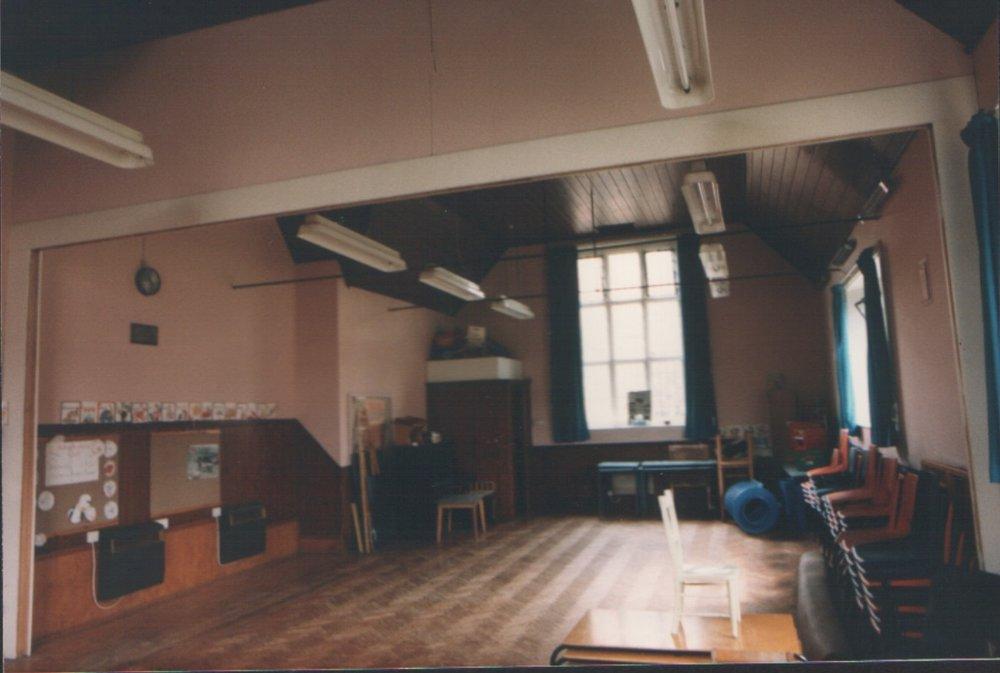 Old schoolroom looking East
