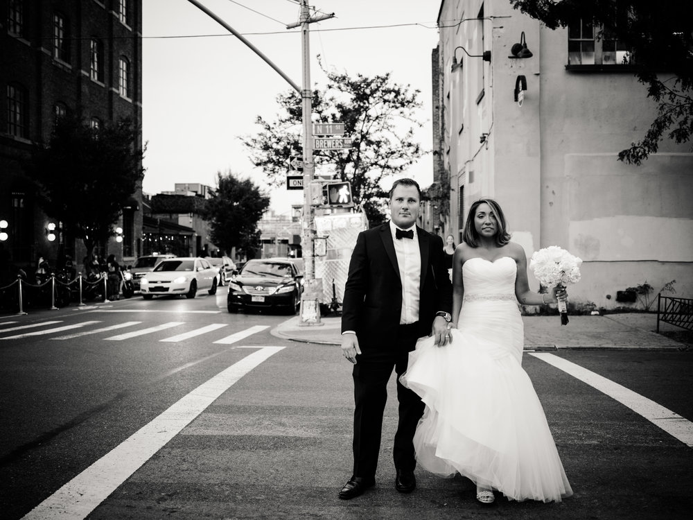 Hasselblad X1D Sample Image - Bride and Groom heading to dinner.