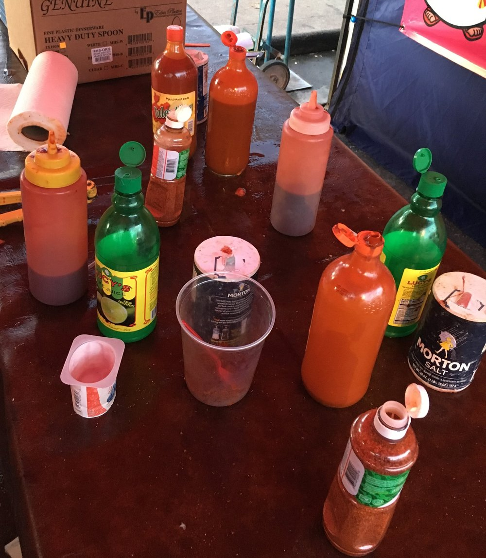 But then you add any or all of this: spices, hot sauce, lime juice - who knew??