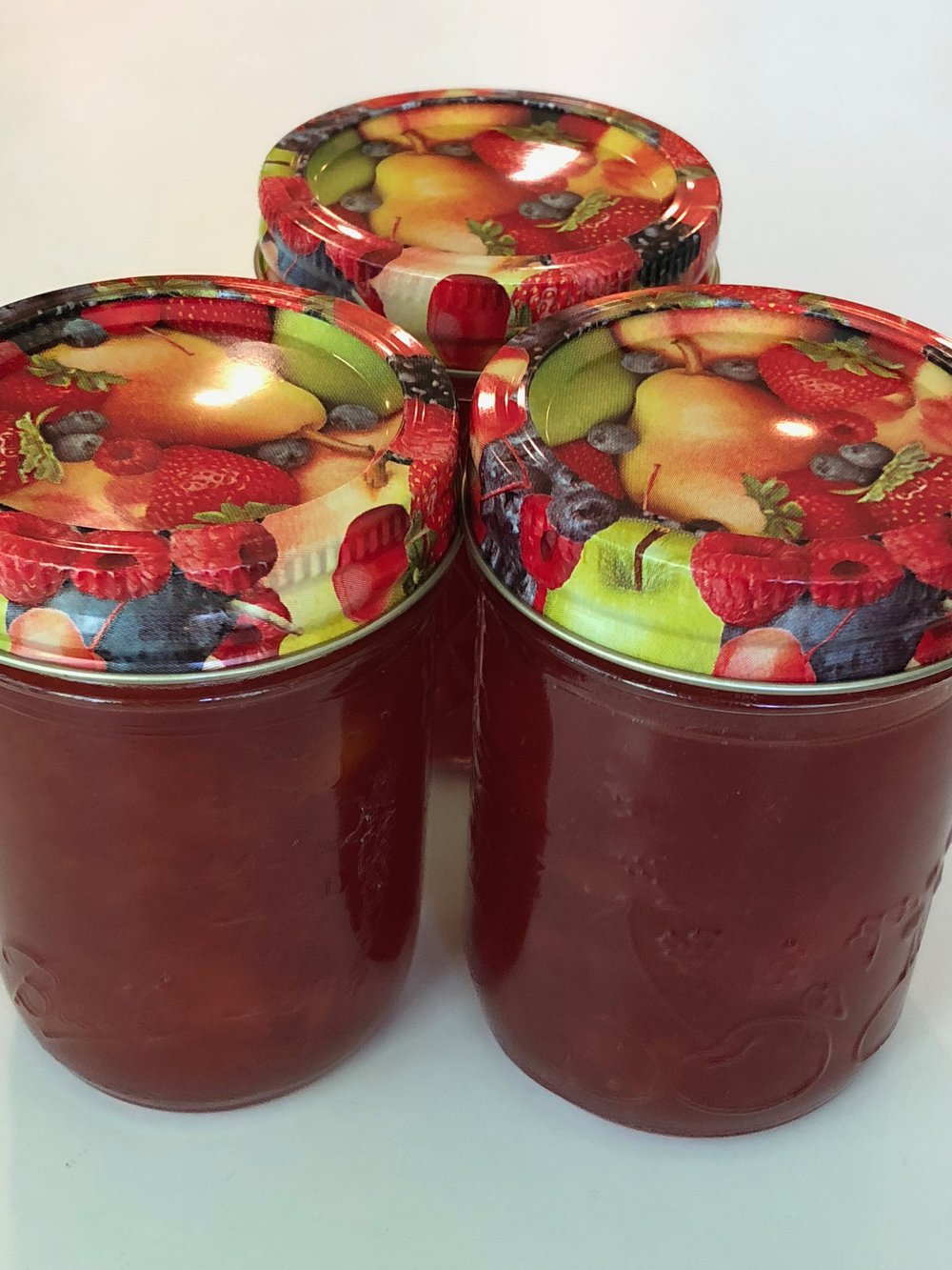 Almond Nectarine Jam