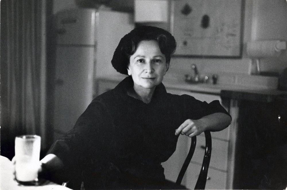 Hedda Sterne photographed by Henri Cartier-Bresson, 1961   © Henri Cartier-Bresson/Magnum Photos