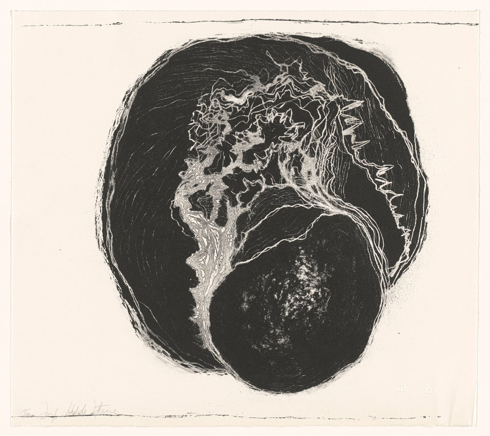 Hedda Sterne,  Untitled , 1967, Lithograph (edition of 10), 22 in. x 14 1/2 in.