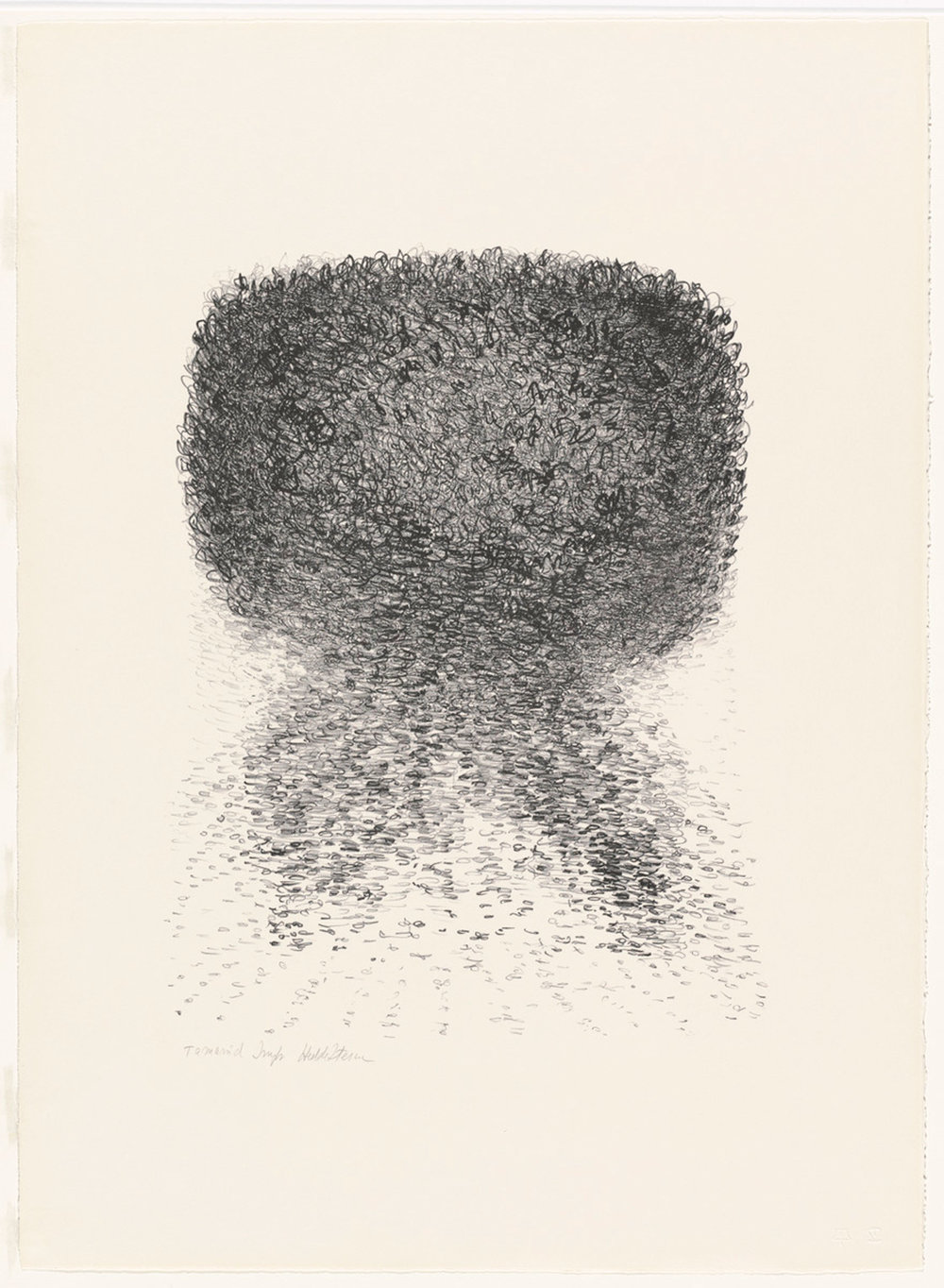 Hedda Sterne, Untitled, 1967, Lithograph (edition of 10), 29 in. x 21 in.