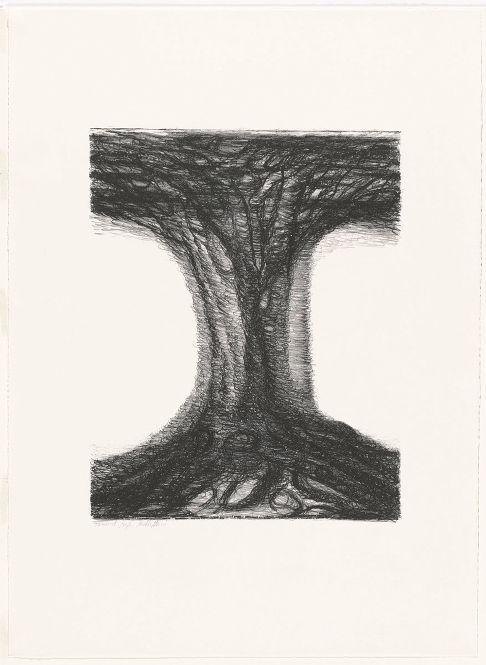 Hedda Sterne,  Untitled , 1967, Lithograph (edition of 15), 29 in. x 21 in.