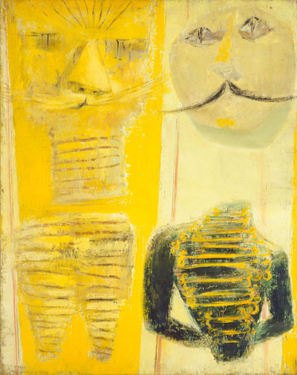 Hedda Sterne,  G.D. [John Graham] , 1943, Oil on canvas, 39 x 31 in.