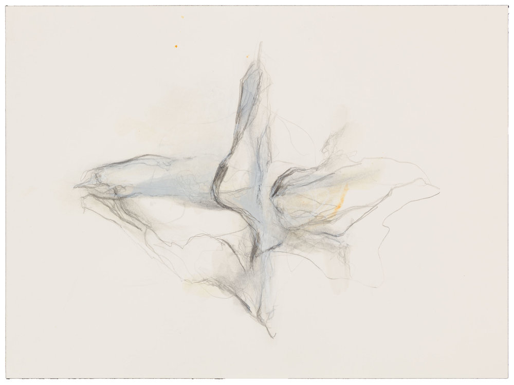 Hedda Sterne,Untitled (October 17, 1999), 1999,Mixed media on paper,12 1/4 in. x 9 1/8 in. (31.12 cm x 23.18 cm)