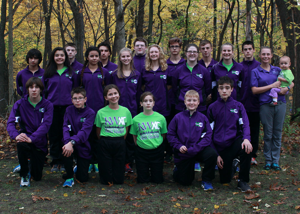 Kensington Woods Schools Cross Country, 2016