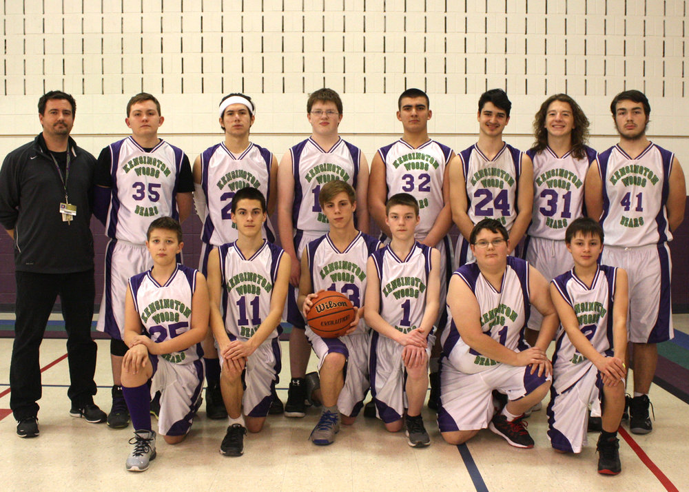 Kensington Woods Schools Boys Basketball, 2016-2017