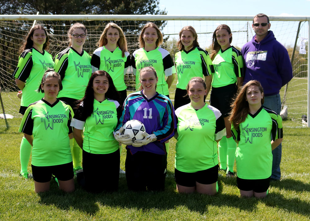 Kensington Woods Schools Girls Soccer, 2017