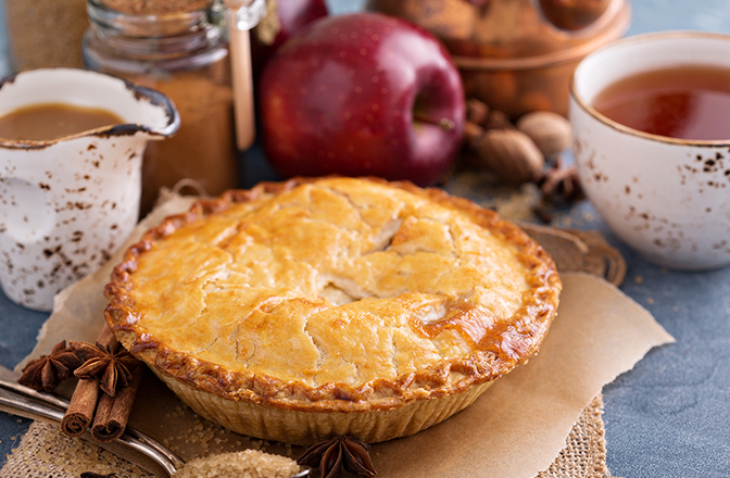 Local Apple Pies - All of our Thanksgiving Apple Pies will be made with Local NH Apples from Meadow Ledge Farm!