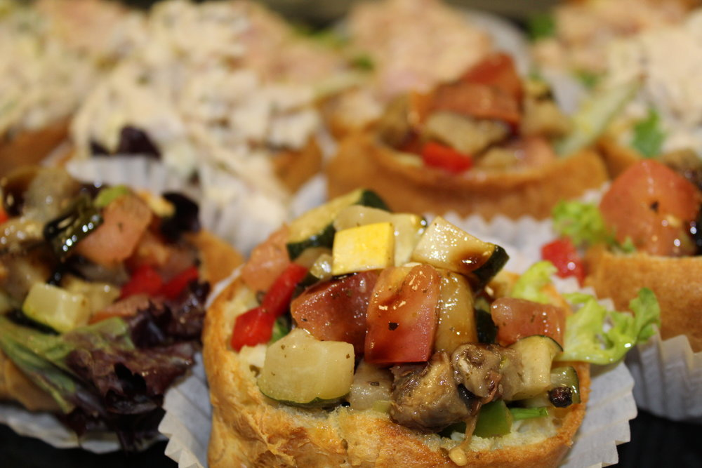 Catering Menu - Our Team understands each catered meeting or party is different and requires specific needs. Our menu offers a wide variety- whether you're looking for familiar Sandwich Platters or you're aiming to offer food a bit more unique, like our Mini Stuffed Popovers, let us work with you in creating a menu that's guaranteed to meet your needs.