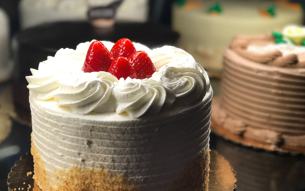 Signature Cakes - Many available for next day pickup! Choose size, add a message and select your pickup location.