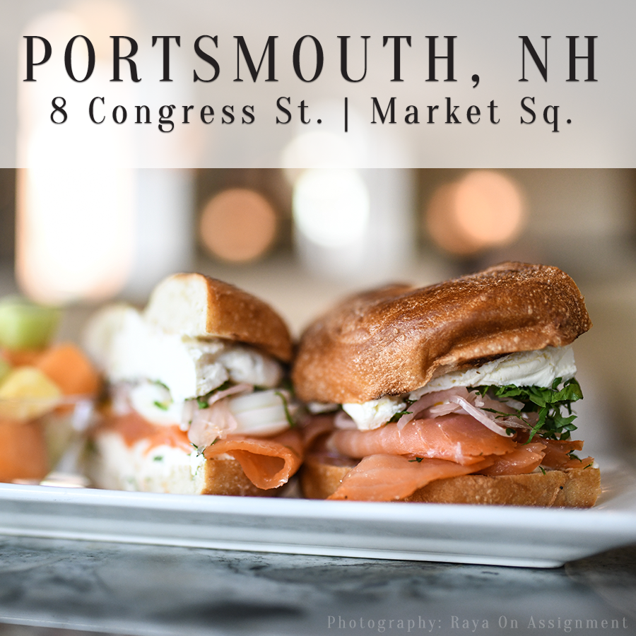 PH: 603.431.1119 - Established in 2006, located in the heart of Portsmouth's historic Market Square offering a Fast Casual dining experience.CLICK HERE TO LEARN MORE