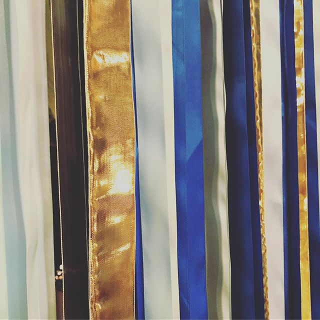 Getting our booth setup ready for the @renegadecraft this weekend at the @brooklynexpocenter stop and say hey! 👋 🐟 #renegadecraft #renegadebrooklyn #ribbons #fishybussiness