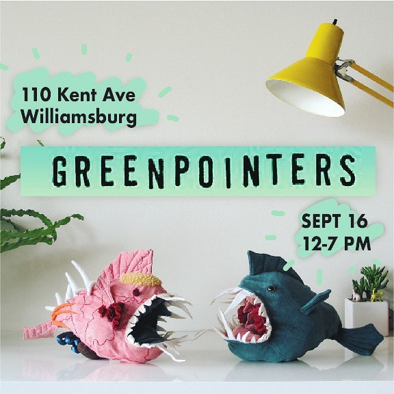 Hey Fish friends! Morris the fish will be at Greenpointers Indie Makers Market September 16th 12-7PM ✨🐟✨ Seeee you there 😉 #indiemakers #greenpointers #fishfriendsforever #greenpoint