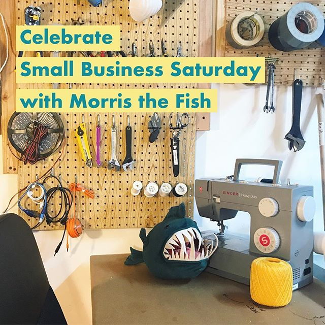 Shop small, shop local this holiday season! Celebrate the small businesses in your community 🛍 We appreciate your business! Get 20% off Morris with code CYBERFISH at morristhefish.com . . #smallbusinesssaturday #smallbusiness #shoplocal #cybermonday #smallbusinessowner #holidaygifts #sciencegifts #uniquegifts