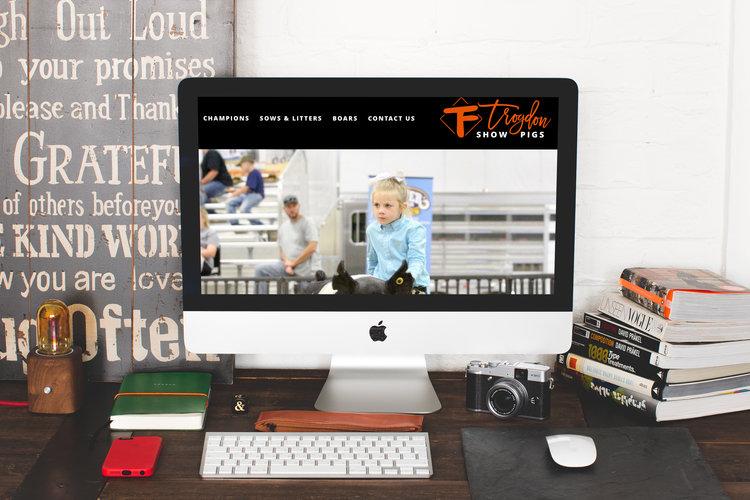 web re launch trogdon show pigs stacy pearce creative