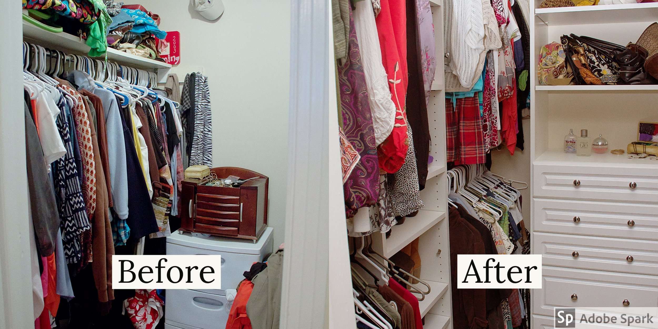 5 Simple Closet Organizing Tips
