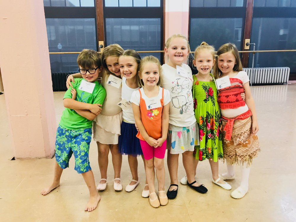 Children's Summer Dance Camp #3 - Date: July 15-18, 2019 (Afternoon)Cost: $98Ages: 3-6Details & Information