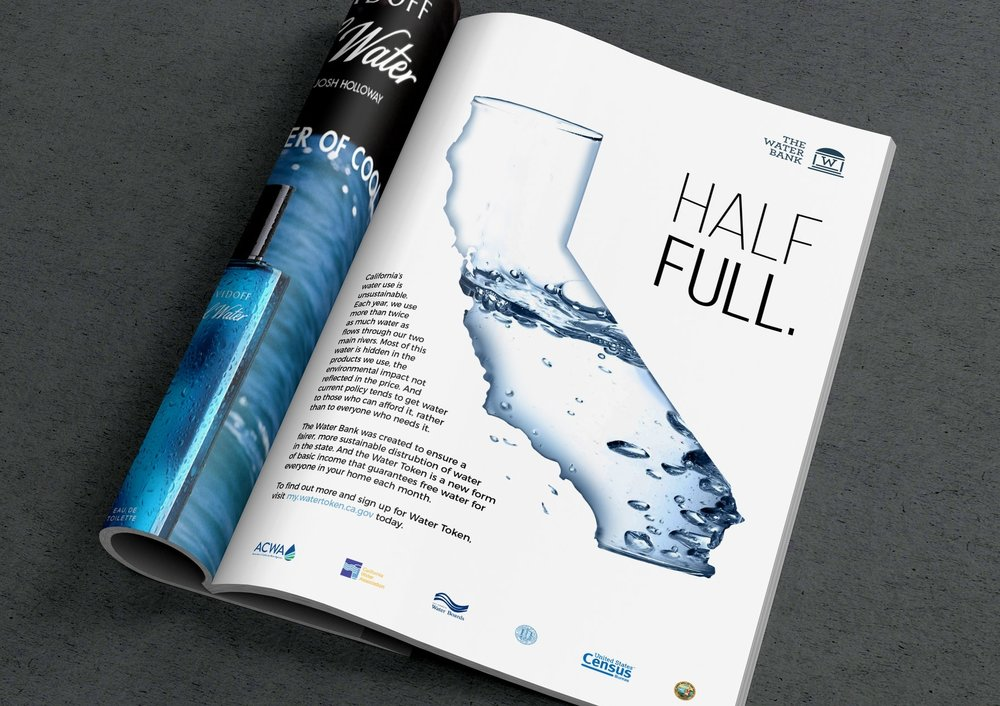 An early awareness ad for the initative, touting the importance of water efficiency.
